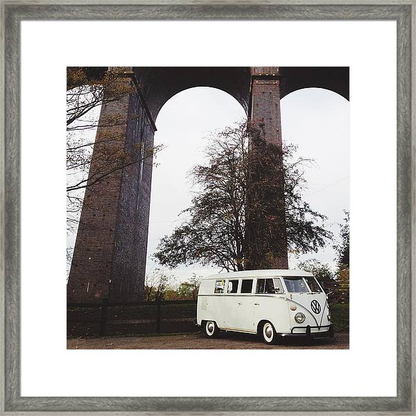 Splitty By The Viaducts IIi Framed Print
