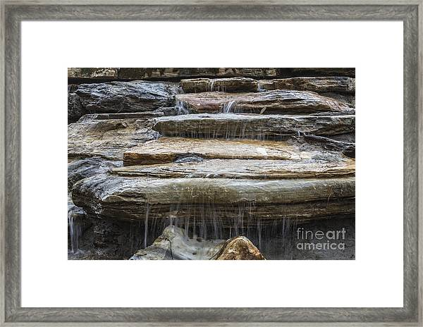 Spring Waterfall Framed Print