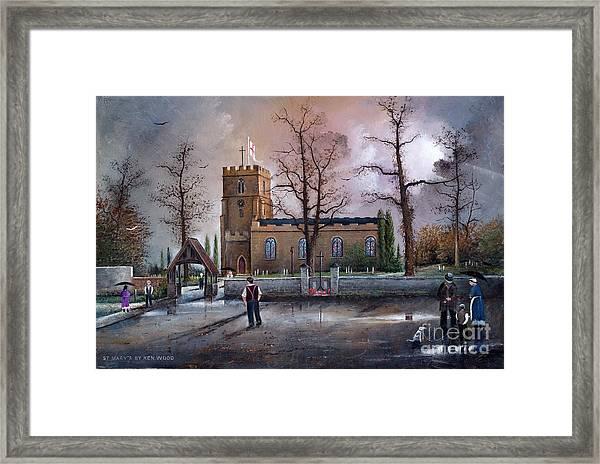 St Marys Church - Kingswinford Framed Print