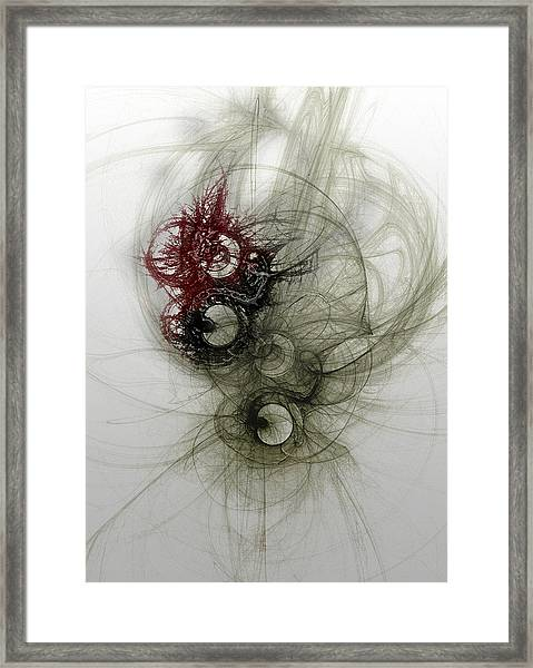 Stable Release Framed Print by David Fox
