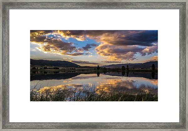 Steamboat Springs Framed Print