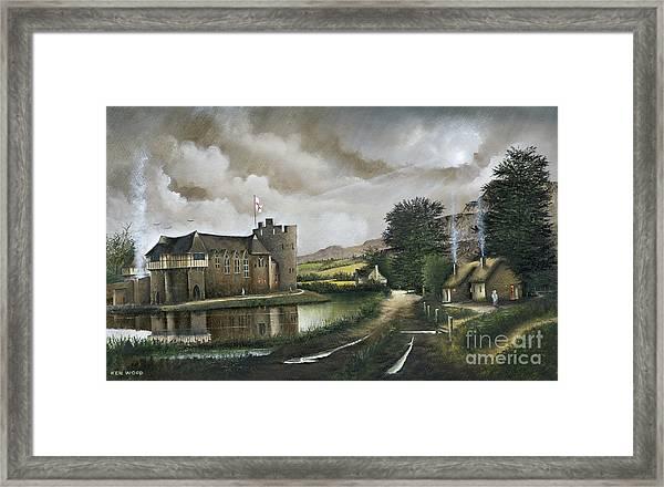 Stokesay Castle Framed Print