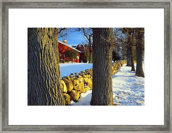Stonewall Farm Framed Print