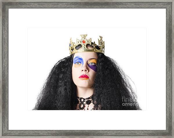 Storybook Queen Framed Print