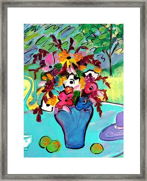 Summer Blooms 2  Framed Print