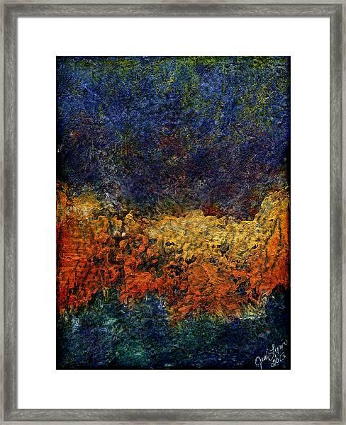 Summer Sand Framed Print
