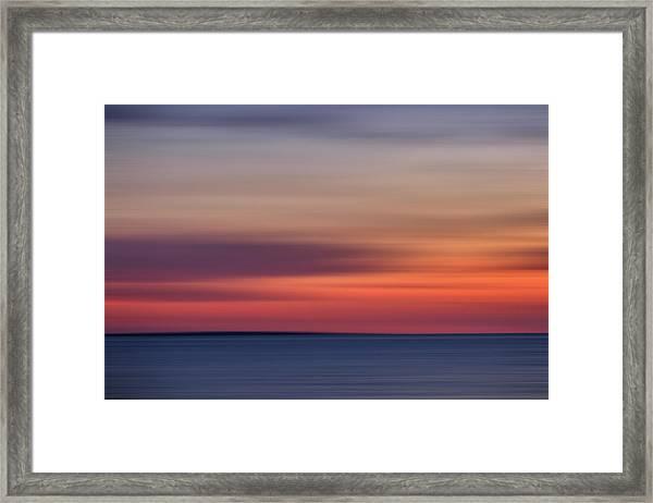 Sunset Over Herring Cove 002 Framed Print