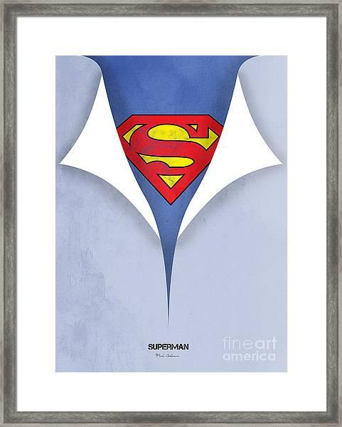 Superman 9 Framed Print
