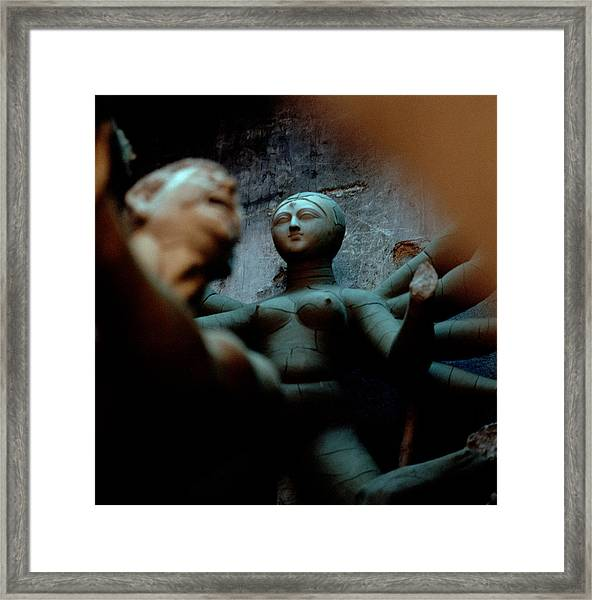 Surreal India Framed Print