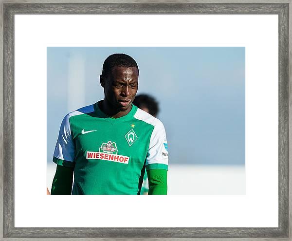 Sv Werder Bremen V Fk Austria Wien - Friendly Match Framed Print by TF-Images