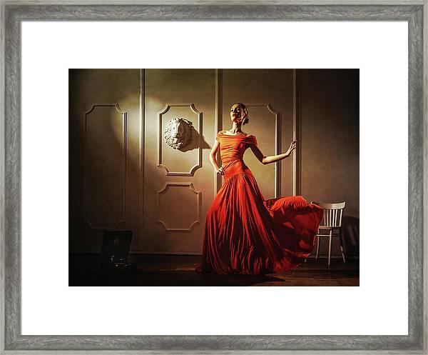 Tango Framed Print by Sergei Smirnov