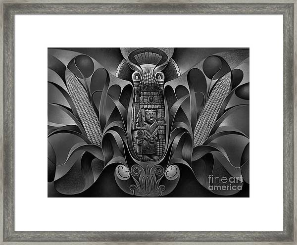 Tapestry Of Gods - Chicomecoatl Framed Print
