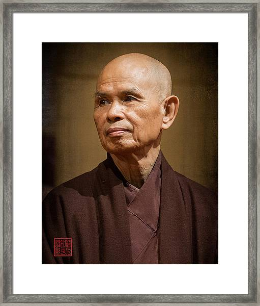 Thay In Thailand Framed Print