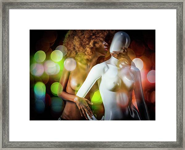 The Age Of Aquarius Framed Print