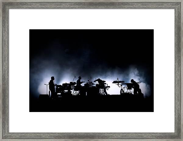 The Band. Framed Print