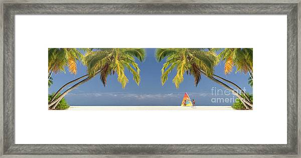 The Beach Framed Print