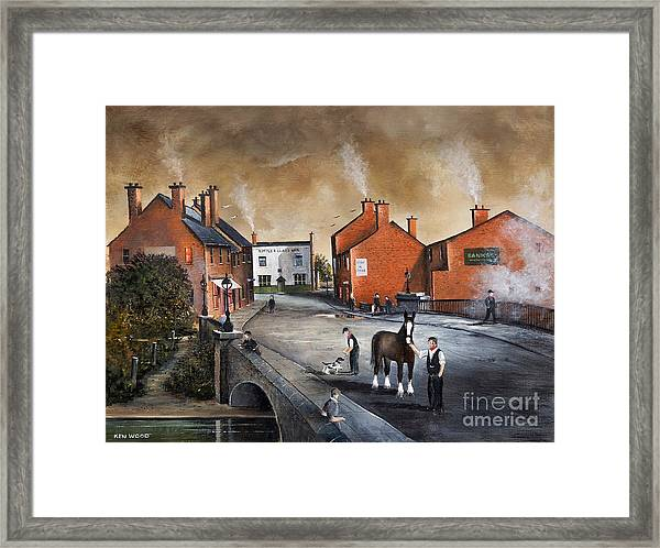 The Blackcountry Village Framed Print