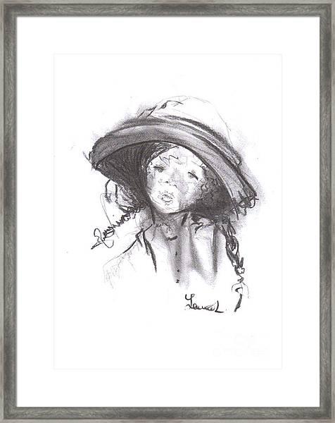 The Bonnet Framed Print