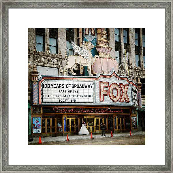 The Fox Theatre Framed Print