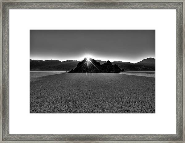 The Grandstand Framed Print