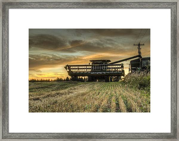 The Harvest Time Framed Print