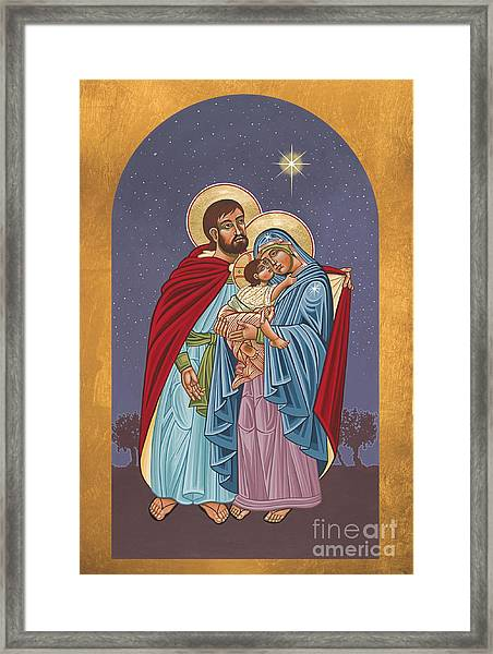 The Holy Family For The Holy Family Hospital Of Bethlehem 272 Framed Print