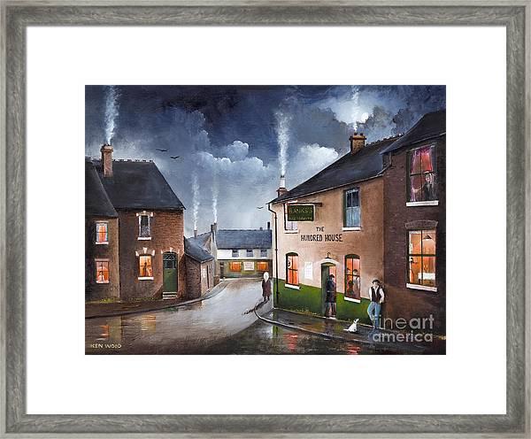 The Hundred House - Lye Framed Print
