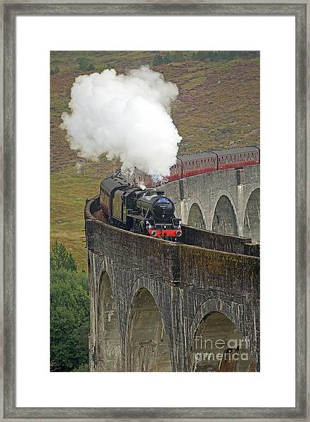 The Jacobite Steam Train Framed Print