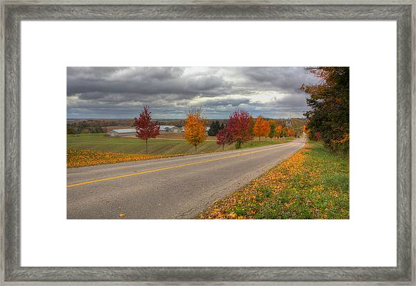 The Magic Of The Fall Framed Print