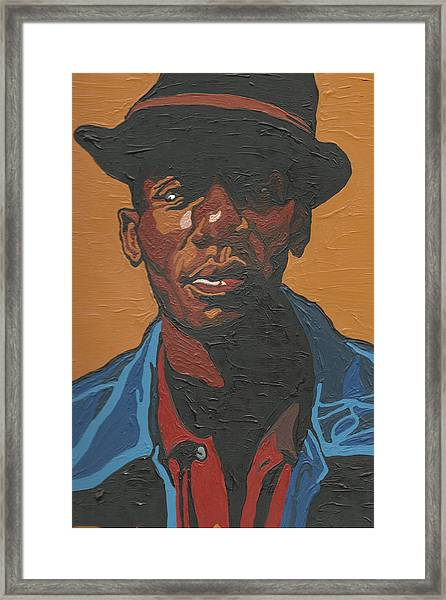 The Most Beautiful Boogie Man Framed Print