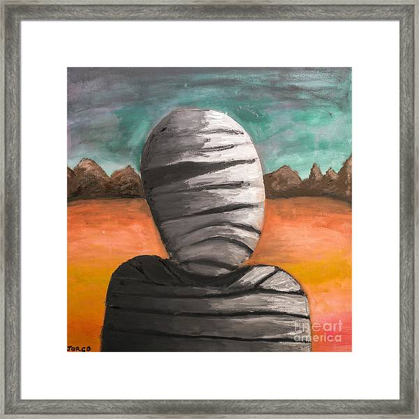 The Mummy And The Curse Of Eternity Framed Print