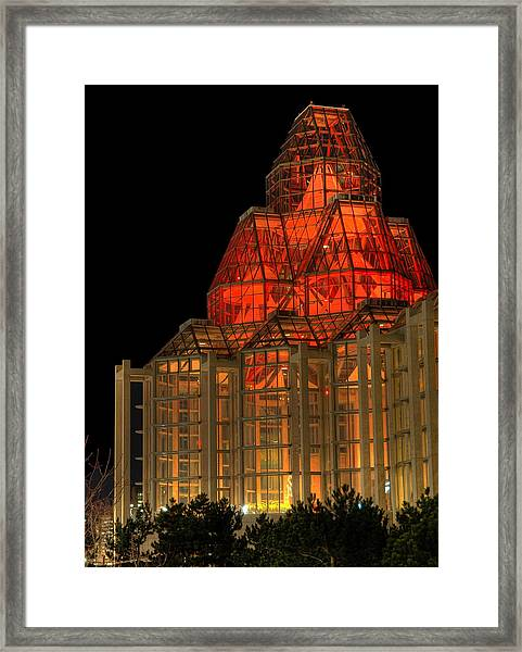 The National Art Gallery In Ottawa Framed Print