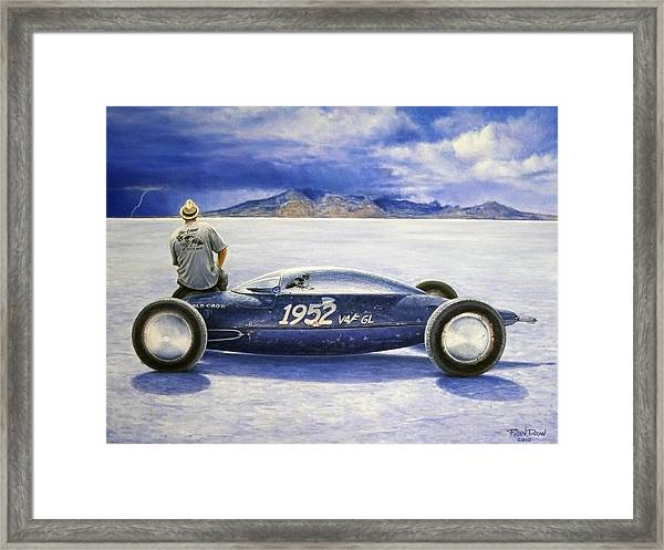The Old Crow Belly Tank Framed Print
