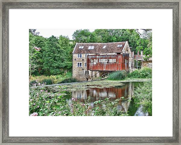 The Old Mill Avoncliff Framed Print