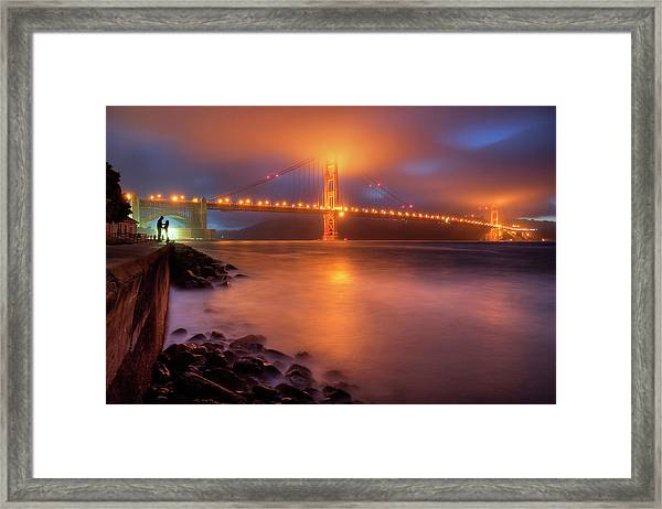 The Place Where Romance Starts Framed Print by William Lee