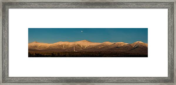 The Presidential Range White Mountains New Hampshire Framed Print