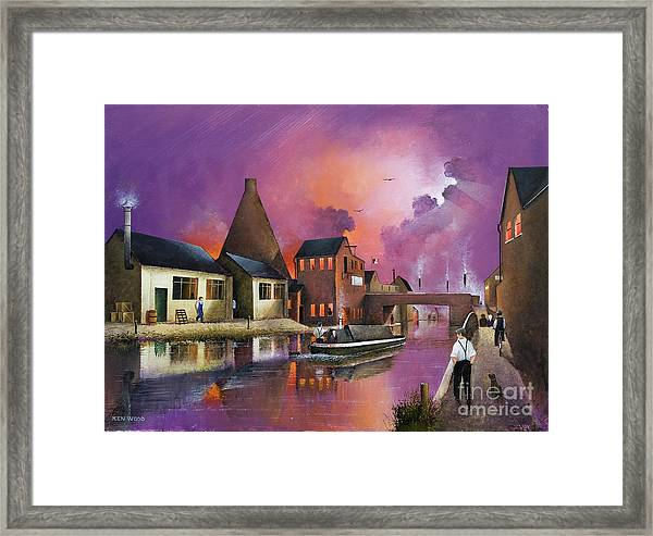 The Red House Cone - Wordsley Framed Print