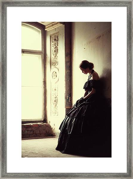The Soft Touch Of Decadency Framed Print