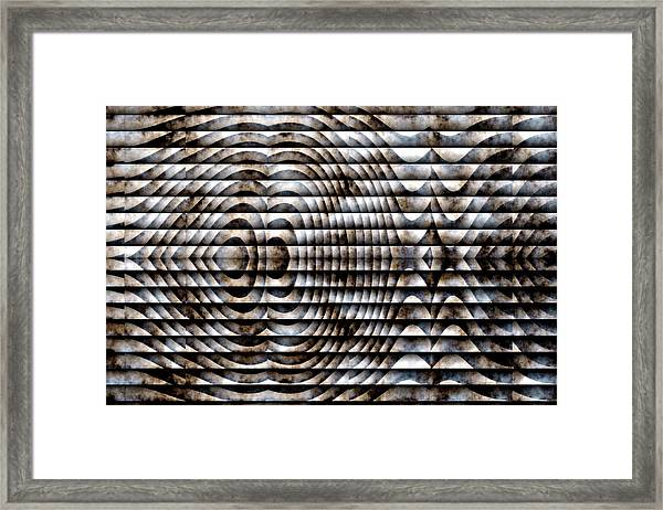 Framed Print featuring the digital art The Symbol by Mihaela Stancu