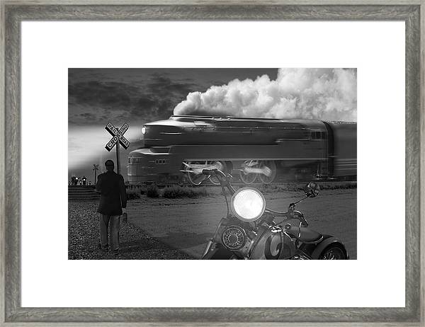 The Wait Framed Print