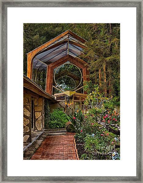 The Wayfarers Chapel Framed Print