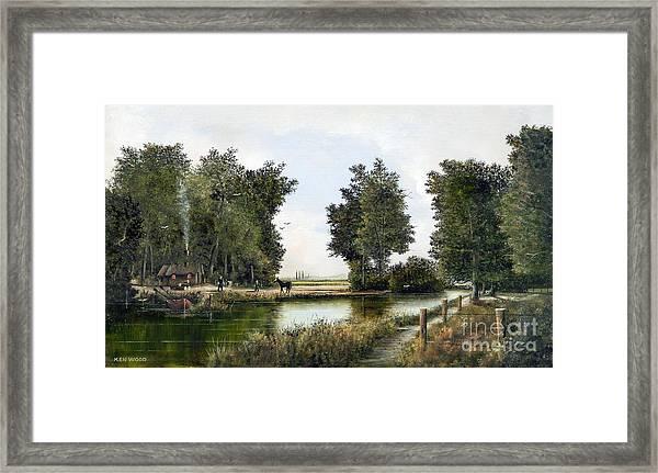 The Woodman Framed Print