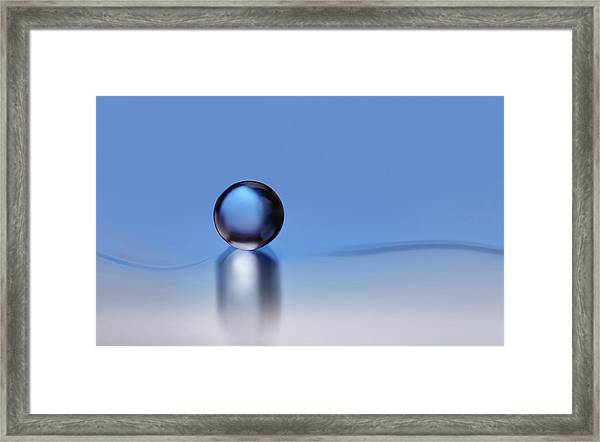 To Find Silence Framed Print