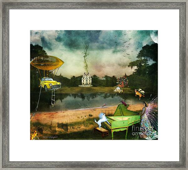 To Wish Impossible Things Framed Print