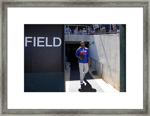 Toronto Blue Jays V Philadelphia Phillies Framed Print by Justin K. Aller
