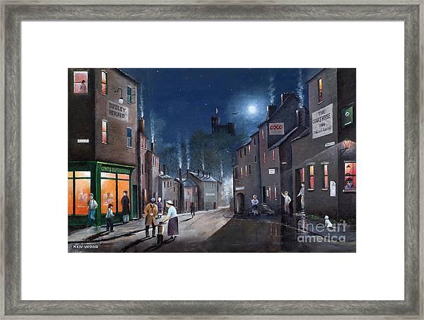 Tower Street Dudley C1930s Framed Print
