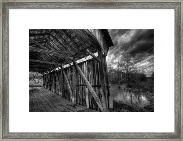 Trinity Road Covered Bridge Framed Print