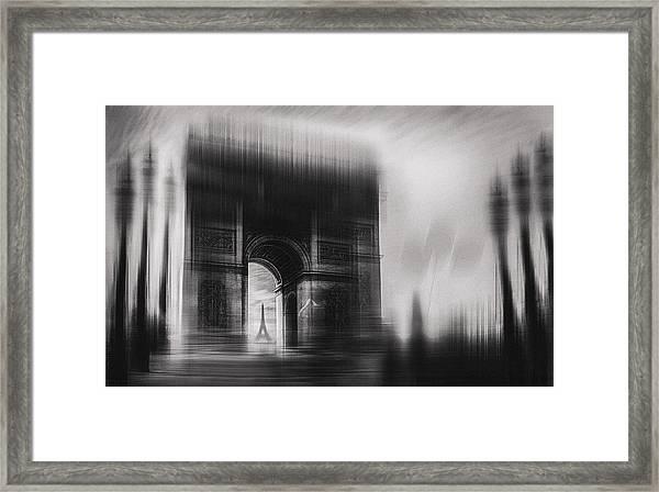 Triumphal Arch Framed Print