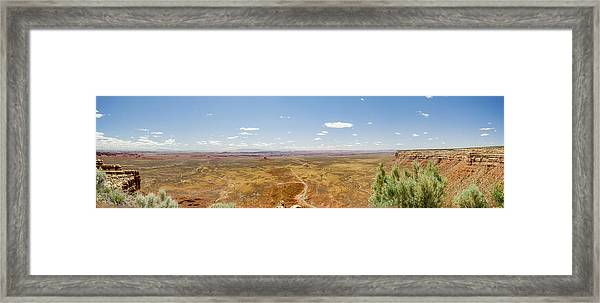 Twelve Hundred Feet Up Framed Print