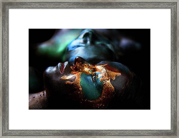 Two Continents. Yellowstone. Framed Print by Ivan Kovalev